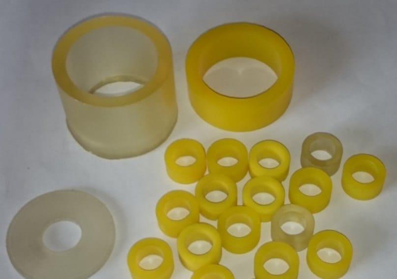 Изготовление бандажей и колец из полиуретана